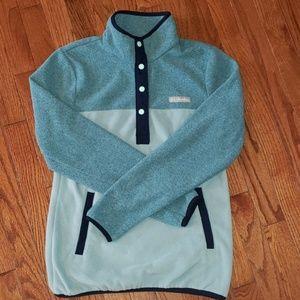 Color block pullover fleece